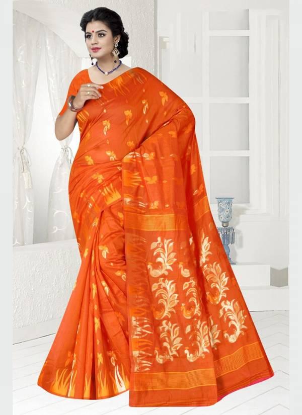 Vamika Fashion Murli Chanderi Series 3341-3348 Chanderi Silk Designer Party Wear Sarees Collection