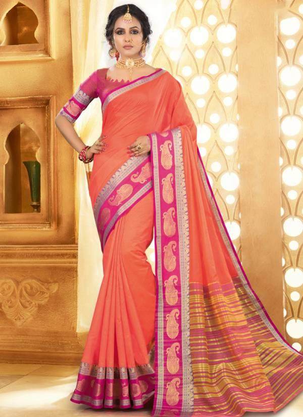 Sangam Prints Kolkata Handloom Khadi Silk With Rich Pallu Wedding Wear Sarees Collection