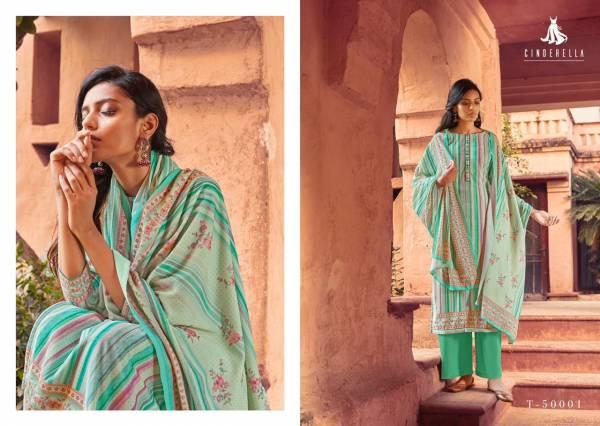 Kalki Fashion Kashifa Series T-50001 - T-50008 Pure Velvet Designer Digital Print Casual Wear Suits Colletion