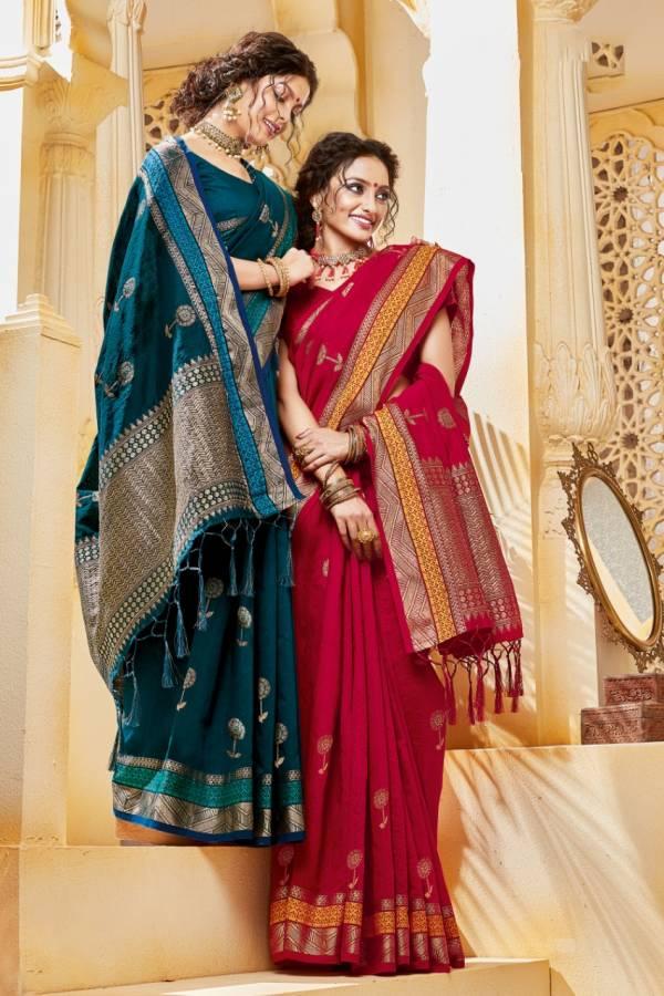 Sangam Cotton Handloom Daily Wear Sarees Collection