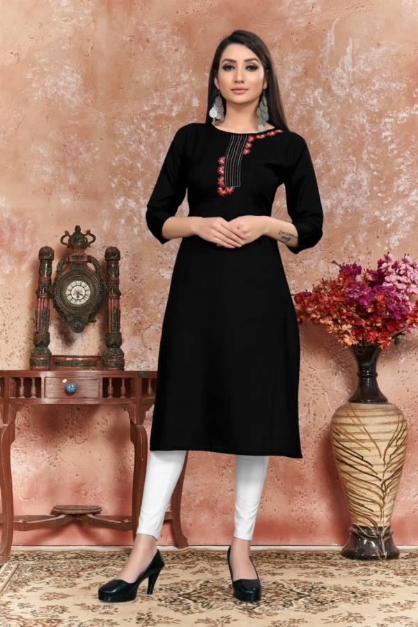 Nakshatra Fashion Studio Dress Vol 5 Series B1-B6 Heavy Cotton With Hand Work New Fancy Casual Wear Kurtis Collection
