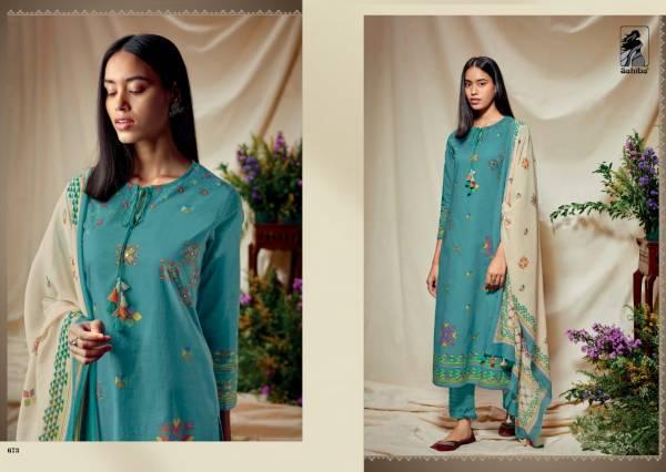 Sahiba Presents Pulkari Cambric Comb Festive Wear Salwar Suit Collection