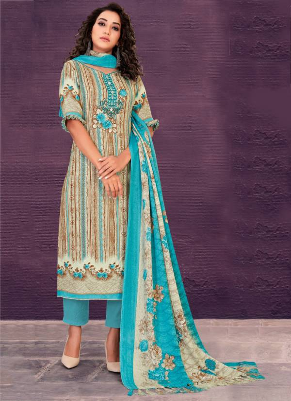 Bipson Preeto Series 1197A-1197D Buy Now Latest Designer Beautiful Pure Pashmina Print Dyed Daily Wear Suits Collection