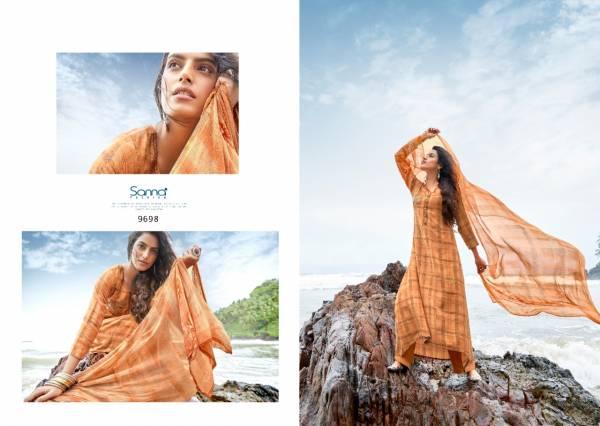 Sanskruti Nousha Series 9692-9701 Pashmina Digital Print With Fancy Hand Work Designer Suits Winter Collection