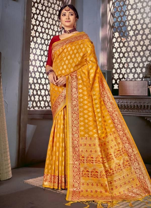 Shakunt Nilanjali  Art silk Heavy Printed Rich Pallu And Digital Embroidery Work Wedding Wear Sarees Collection