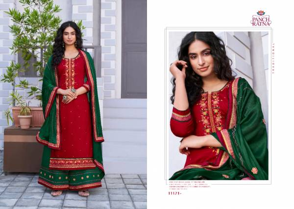 Kessi Sun City Jam Silk With Designer Work Eid Special Palazzo Suits Collection