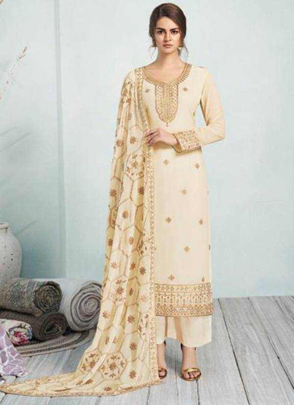 Aashirwad Mehreen Series 7184-7189 Real Georgette With Sequence Multi Work Festival Wear Suits Collection