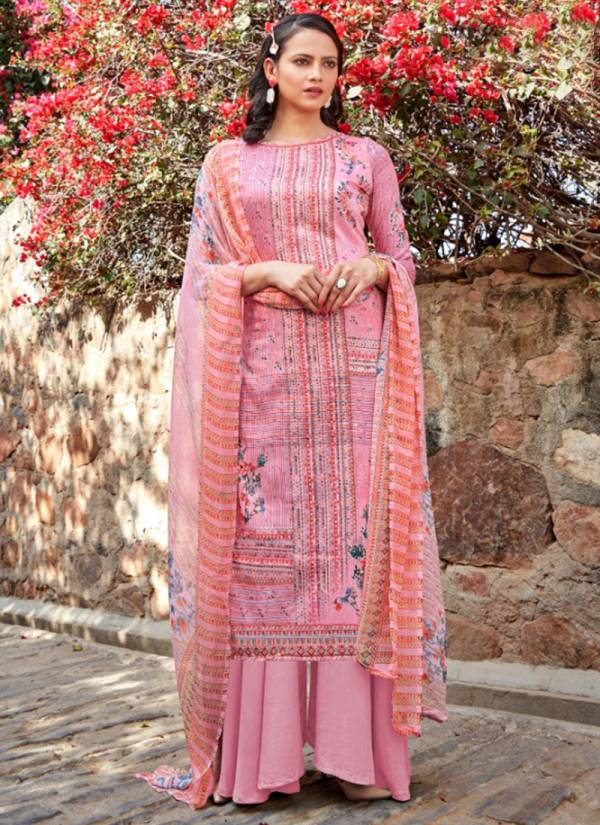 Alok Suit Gujariaa Zam Cotton Digital Print with Swarovski Diamond Work Palazzo Suit