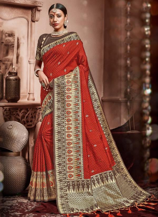 Vamika Sudarshan Silk Series 956-965 Art Silk Diwali Festival Special Whlosale Rate Sarees Collection
