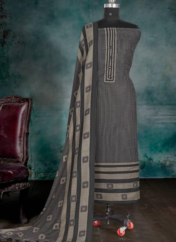 Bipson Pashmina New Fancy Winter Wear Woolen Dress Material Collection