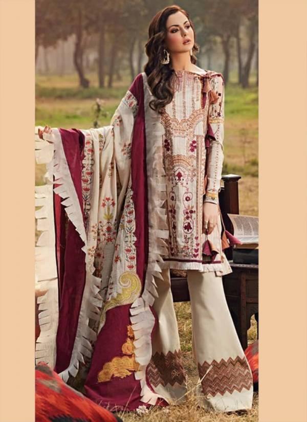 Sharddha Designer Charizma Vol 3 Series 7301-7304 Pure Cambric Cotton With Chikankari Work Latest Designer Pakistani Suits Collection