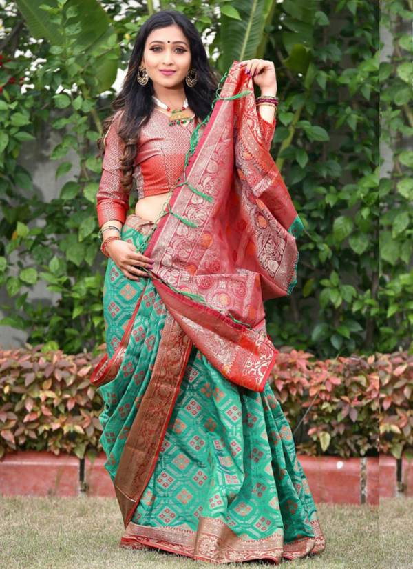 Nakshatra Fashion Studio Rang Vol 51 Series R-410 -R413  Patola Silk Weaving Latest Designer Traditional Look Sarees Collection