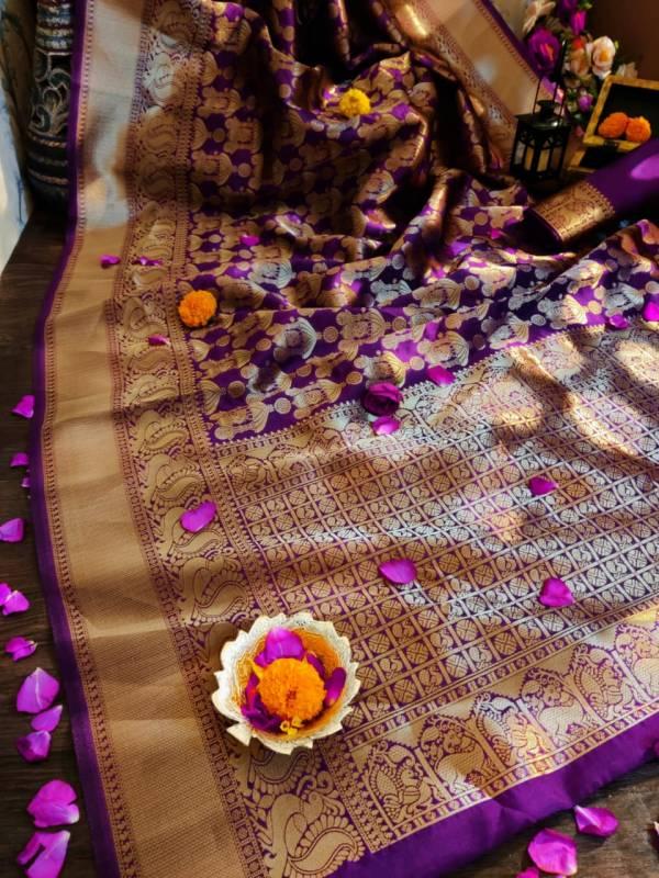 Redolance Man Mandir Series 1-6 Kanjivaram Silk Latest Designer Wedding Wear Sarees Collection