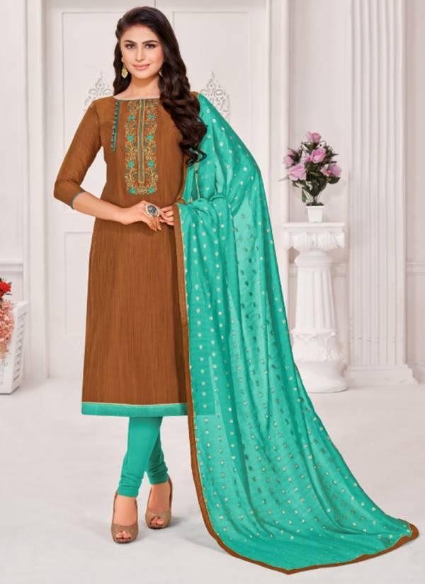 Kapil Tex Unique Banarashi Embroidery Wear Festival Wear Salwar Suits Collection
