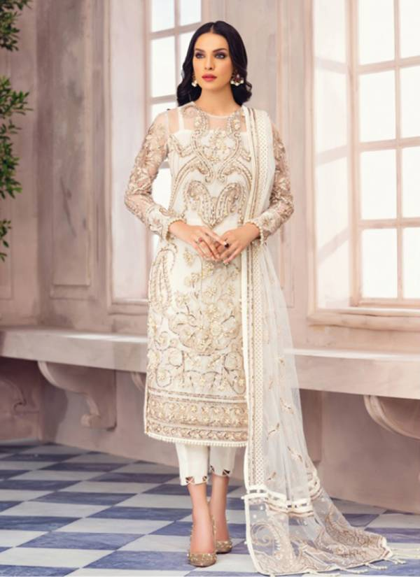 Charizma Designer Gulaal Series 89001-89004 Heavy Net With Heavy Embroidery Work New Designer Wedding Wear Pakistani Suits Collection