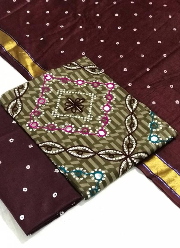 Designer Suit Pure Cotton Batik Print With Embroidery Work Traditional Wear Designer Salwar Suits Collection