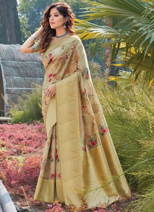Sangam Roop Shringar Silk Digital Print Fancy Designer Sarees Collection