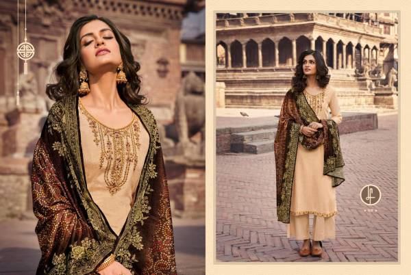 LEO Aarkh Vol 4 Chinon Chiffon Embroidery And Diamond Work Traditional Look Designer Salwar Suits Collection