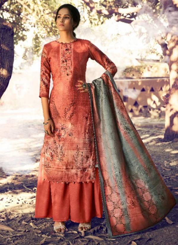Levisha Lisaa Series 80013-80020 Latest Pure Pashmina Digital Print With Fancy Khatli Work Salwar Suits Collection