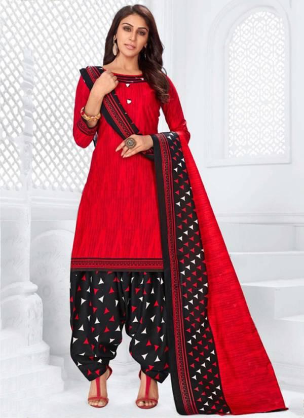 Ridhi Sidhi Prerana Vol 6 Series 6001-6012 Pure Cotton Printed Designer Casual Wear Readymade Punjabi Patiyala Suits Collection