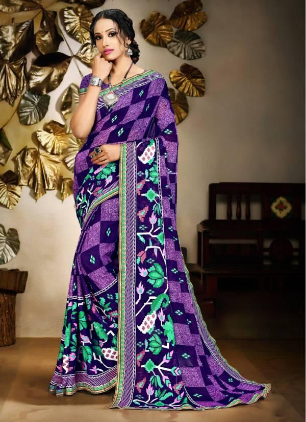 Kodas Saloni Hot Vol 11 Series 2179-2190 Rennial Printed With Border Regular Wear New Fancy Sarees Collection