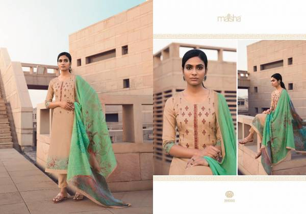Maisha Kashika Pure Cotton Digital Print With Embroidery Work And Delicate Handwork Casual Wear Readymade Salwar Suit Collection