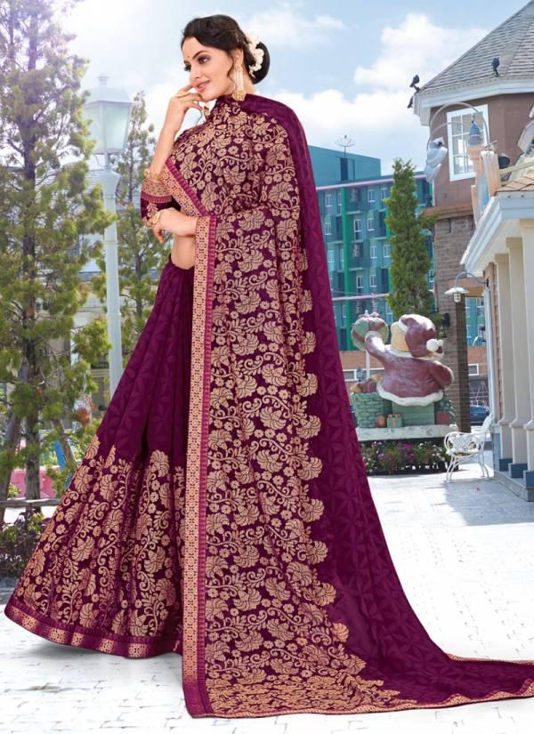 Kodas Murabba Series 6216-6223 Weightless Printed Casual Wear Sarees Collection