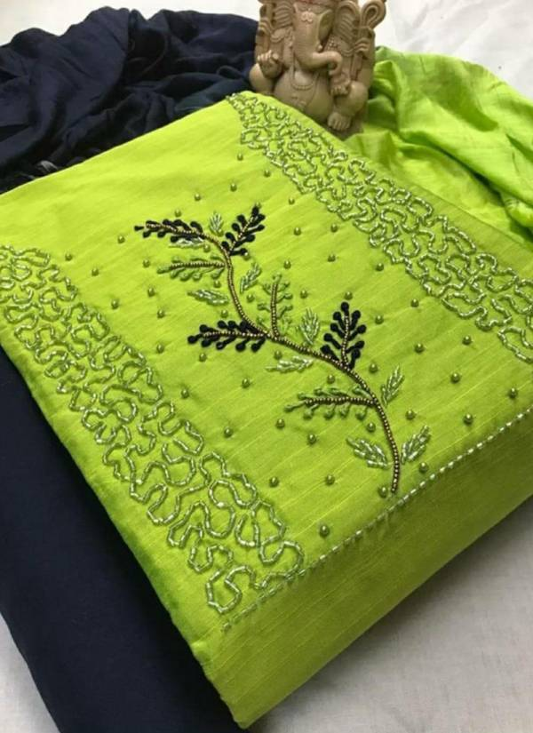 Maa Swaroop Suits Kashish Pc Cotton With Fancy Hand Work Daily Wear Non catalogues Dresses Matiyela