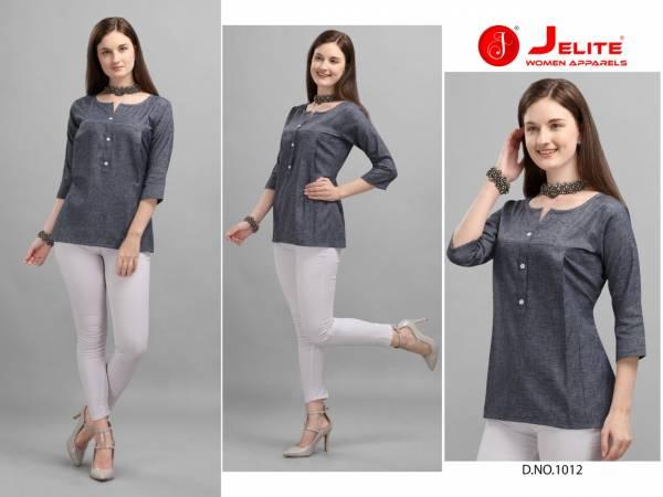 Jelite Carnation 3 Premium Quality Cotton Fancy Daily Wear Designer Top Collection
