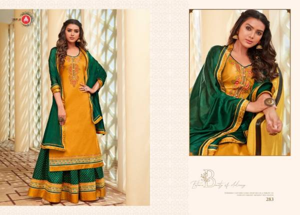 KVS Kadambari Vol 2 Series 281-286 Jam Silk With Fancy Embroidery Work New Look Suits Collection
