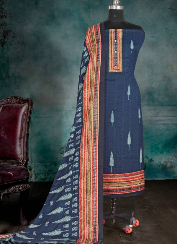 Bipson Pashmina winter Wear Woolen Printed Dress Collection