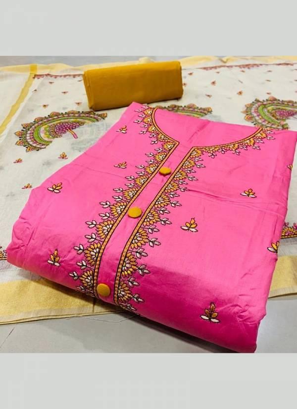Designer Suits Series BA-BD PC Cotton Fancy Work Non Catalog Salwar Suits Collection