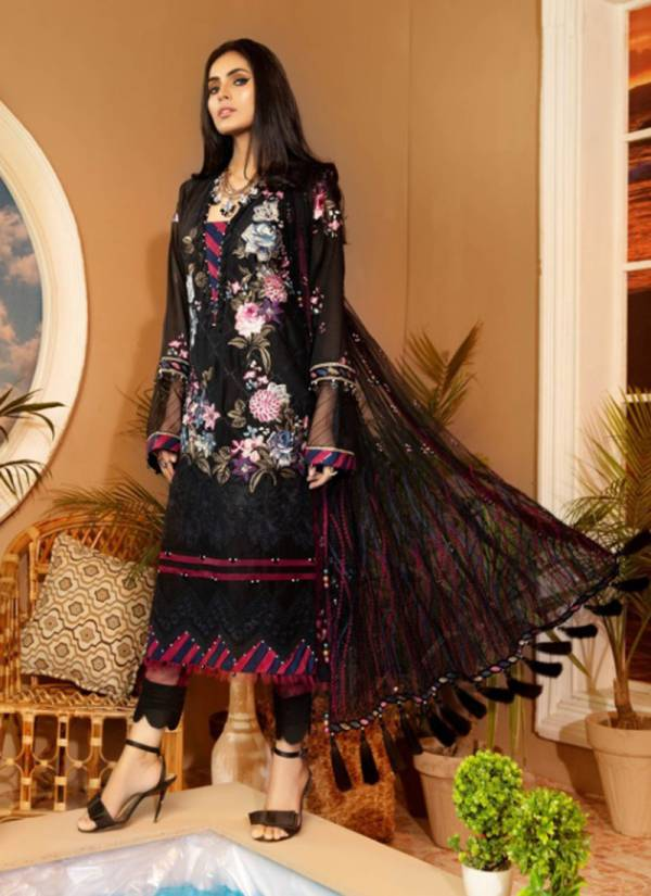 Saniya Trendz Mushq Pure Cotton Embroidery Work Festival Wear Pakistani Suits Collection