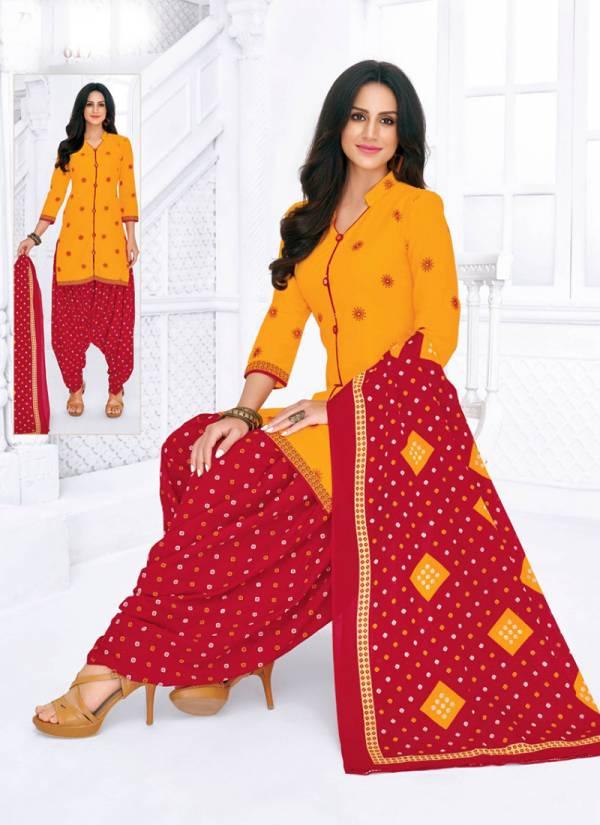 Pranjul Priyanka Unstitched Vol 6 Series 601-630 Pure Cotton Daily Wear Patiyala Suits Wholesales Collection