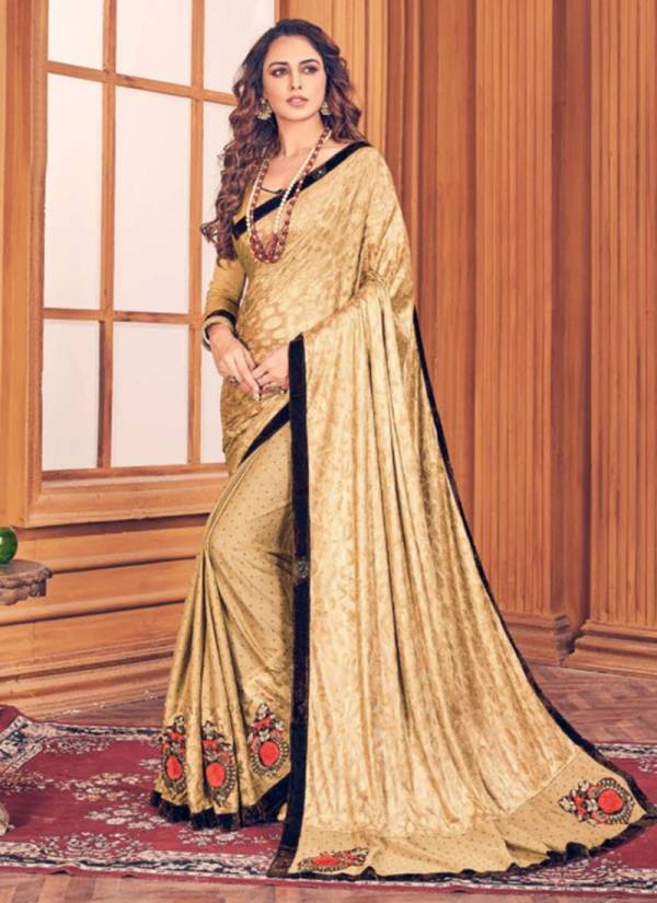 Kalista Fashion One Plus Vol 2 Series 76001-76008 Lycra Base Heavy Embroidery Work Party Wear Sarees Collection