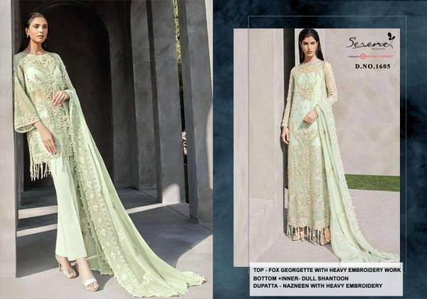 Reign Faux Georgette Eid Special Pakistani Suits Collection