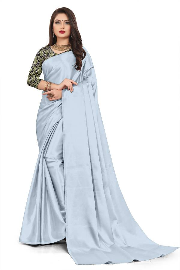 Chirag Series 1-18 Rich Satin With Fancy Blouse Party Wear Sarees Collection