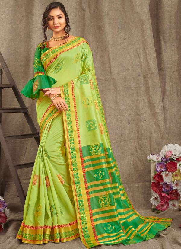 Sangam Vatshalya Series sgvht-1001-sgvht-1008 Traditional Wear New Designer Handloom Cotton Sarees Collection