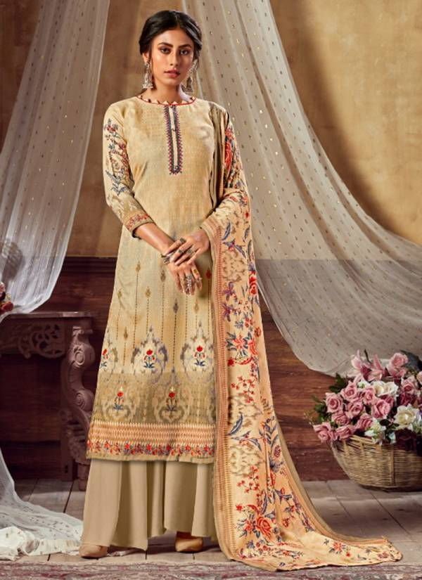 Levisha Femina Vol 10 Series 6613-6620 Latest Designer Pure Pashmina Winter Season Casual Wear Suits Collection