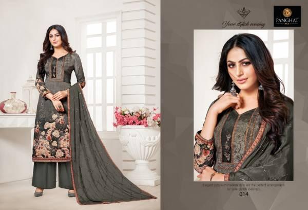 Panghat NX Senorita Series 009-016 Pure Cotton Silk Digital Printed With Stylish Daily Wear Palazzo Suits Collection