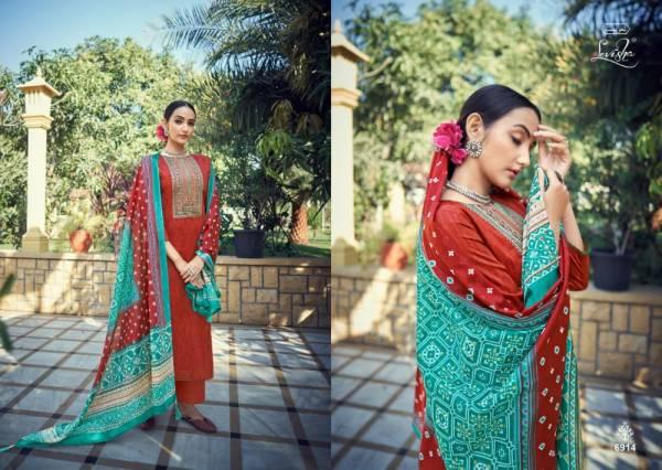 Levisha Panihari Vol 3 Pure Jam Cotton Printed With Kashmiri Work Suits Collection