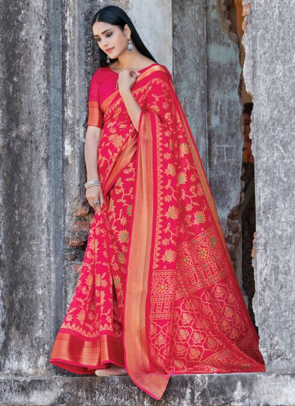 Sangam Prints Sangini Cotton Latest Designer Sarees Collection