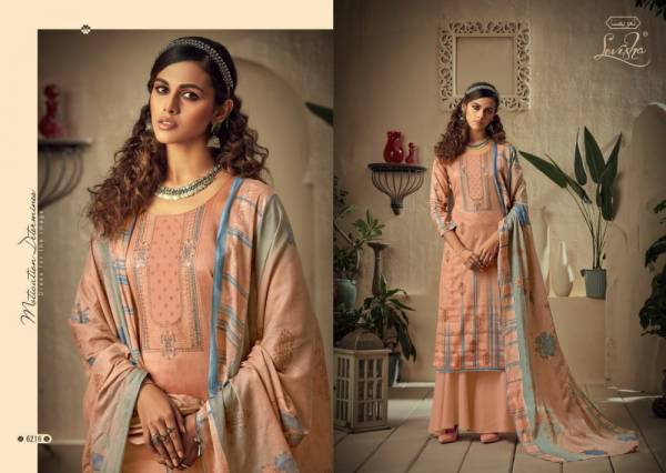Levisha Firdosh Jam Cotton Digital Style With Work Palazzo Suits Collection