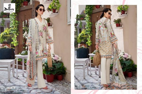 Majesty Firdous Exclusive Series 1001-1006 Lawn Cambric Designer Casual Wear Printed Pakistani Suits Collection
