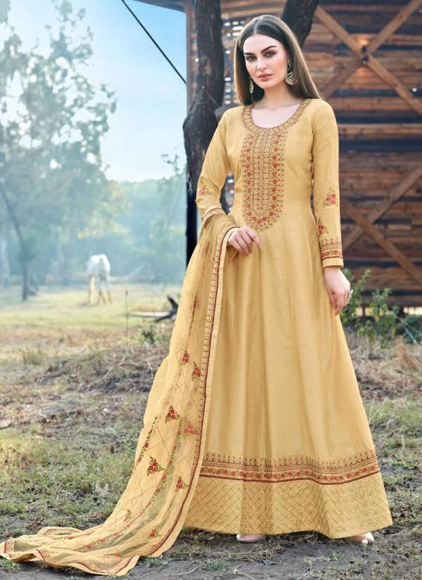 Bela Fashion Kashish Series 1548-1553 Dola Silk Embroidery Work Festival Wear Anarkali Suits Collection