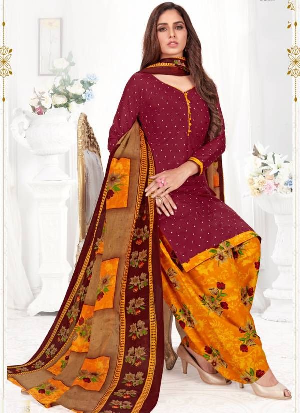 Riddhi Siddhi Paaro Vol 3 Series 3001-3015 Buy Now Cotton Printed Wholesale Prices Office Wear Readymade Patiyala Suits Collection