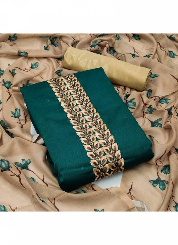 Designer Suit Multi Work Bombay Cotton Daily Wear Dress Material Salwar Suits Collection