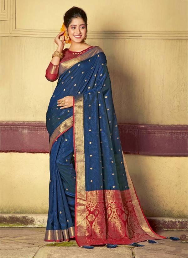 Sangam Roop Sundari Series ROOPSUNDARI-3001-ROOPSUNDARI-3006 Handloom Silk Latest Exclusive Designer Traditional Wear Sarees Collection