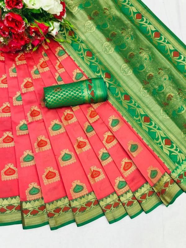 Shiv Saree Creation Anarika Series 001-007 Pure Heavy Lichi Soft Silk With Rich Pallu New Designer Sarees Collection
