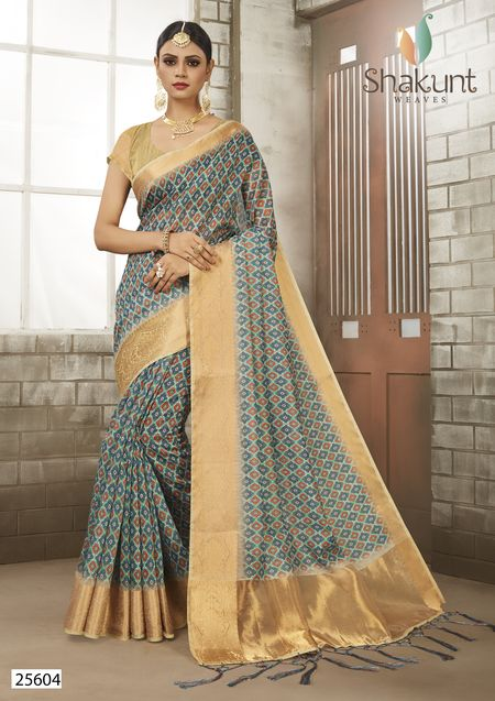 Shakunt Venus Art Silk Fancy Digital Work Traditional Wear Designer Sarees Collection